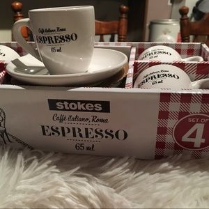 Other - Espresso Cup and Saucer Set